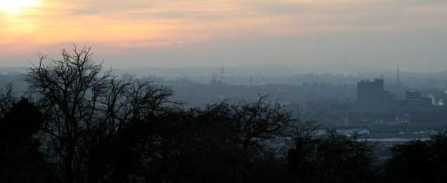 Grantham at Sunset