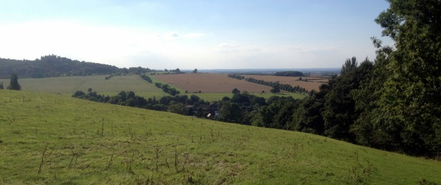 View from the top of Woolesthorpe Hill